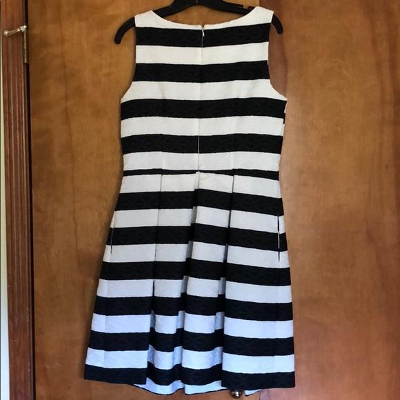 Taylor Dresses & Skirts - Black & white striped dress